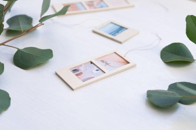 DIY Fotogeschenk aus Holz schereleimpapier kreative Tutorials für DIY Geschenke, DIY Möbel und DIY Deko zum Basteln