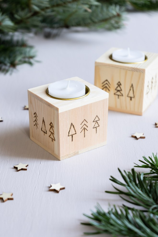 Teelichthalter selber machen schereleimpapier kreative Tutorials für DIY Geschenke, DIY Möbel und DIY Deko zum Basteln