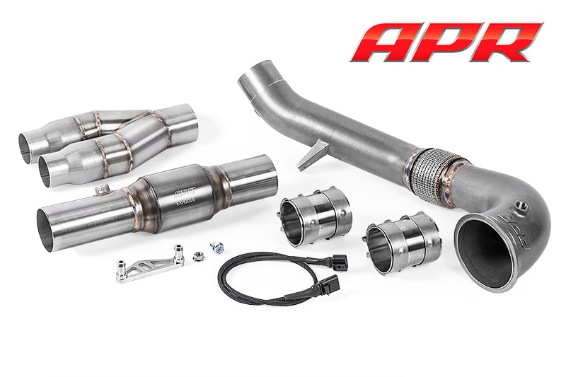 APR Cast Downpipe RS3 8P und TT-RS 8J