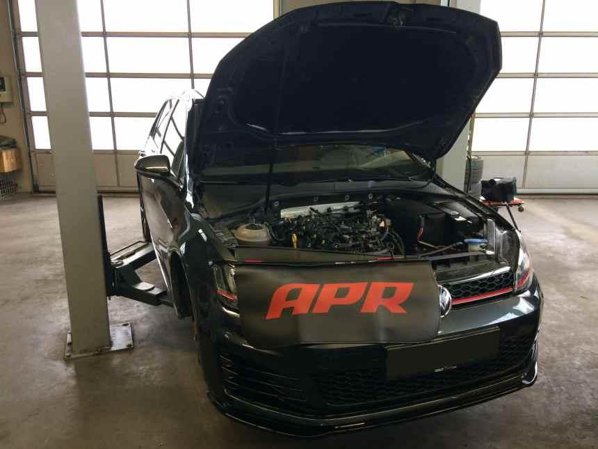 VW Golf 7 GTI PP SCHERER Motoren Kundenfahrzeug