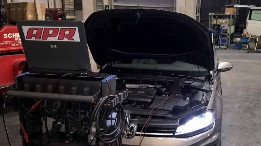 VW Golf 7 R SCHERER Motoren Kundenfahrzeug
