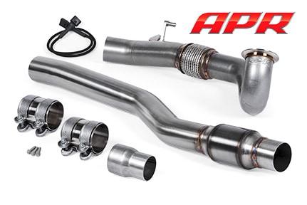 APR-MQB-AWD-Downpipe Golf7 R S3 8V TTS 8S