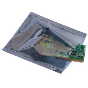 Transparent Metallic Static Shielding Bags Layflat