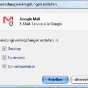 Google Chrome: Anwendungsverknüpfungen erstellen