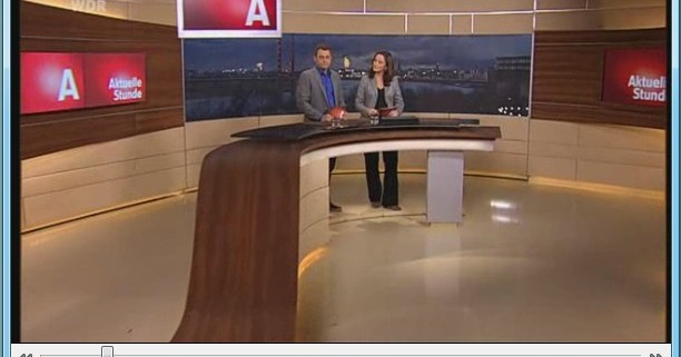 DeskPins: VLC media player angepinnt