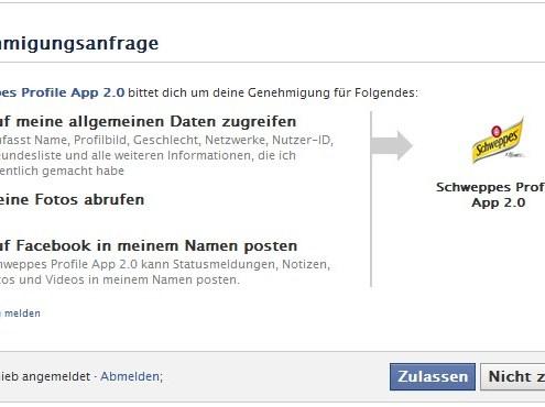 Facebook-Apps: Bei Berechtigungen besser genau hinsehen
