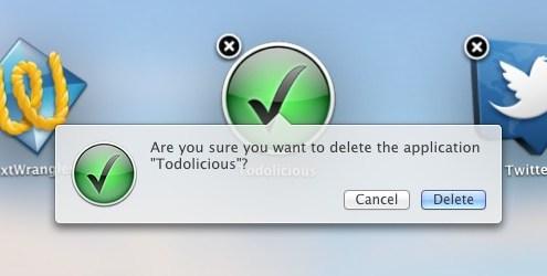 Mac OS Launchpad: App löschen