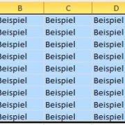 Excel: Zellen automatisch ausfüllen