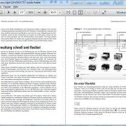 Adobe Reader: Zweiseitenansicht