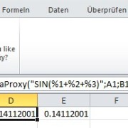 Excel-Add-in Theta Proxy XL