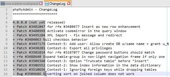 Notepad++: Spaltenweise Markierung erstellen