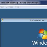 VirtualBox: Windows 8-Setup