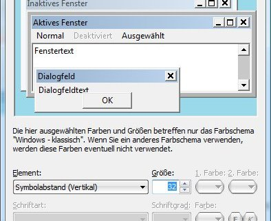 Windows-Desktop: Abstand der Symbole anpassen