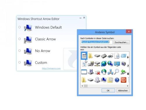 windows-verknuepfungen-pfeile-aendern