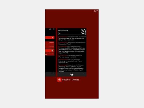 wp8-app-beenden