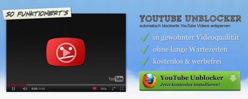 YouTube-Videos abspielen trotz GEMA-Blockade – schieb de