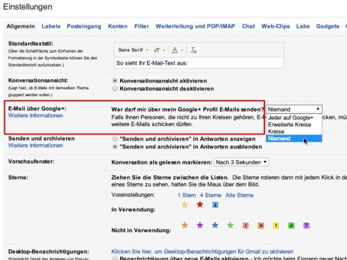 gmail-nachrichten-ueber-google-plus