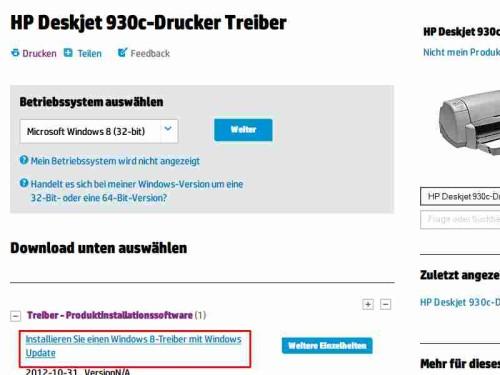 druckertreiber-installieren-windows-update