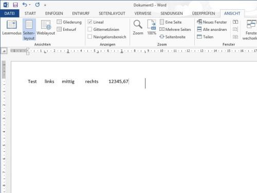 word-tabstopps-lineal