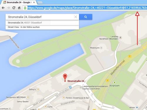 google-maps-adressleiste