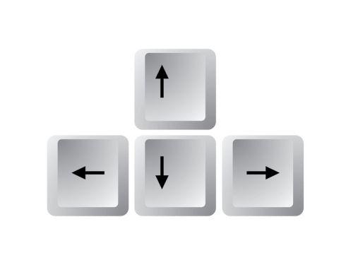 tastatur-pfeiltasten