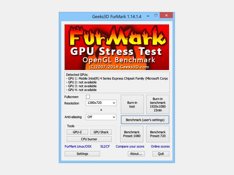 gratis stress test