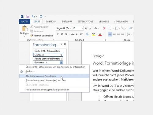 word-formatvorlage-instanzen-markieren