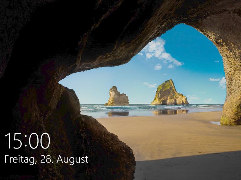 Windows 10 Sperrbildschirm Bilder Orte