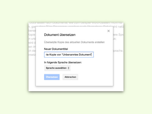 google-docs-dokument-uebersetzen
