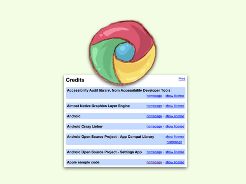 chrome-credits