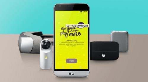 LG G5; Rechte: LG Electronics
