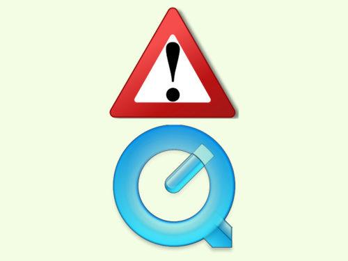 quicktime-warnung