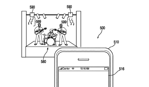 Apple Patent: Fotofunktion per Infrarot abschaltbar