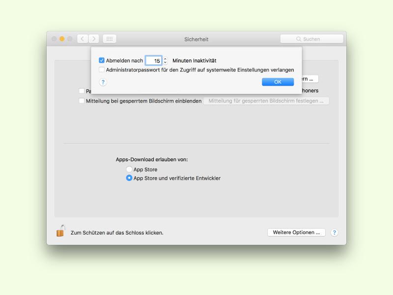 App-Store-Haken Apps