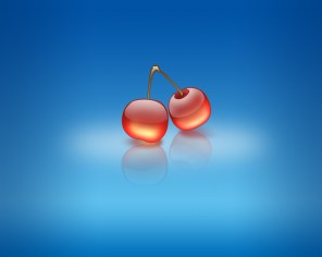 Wallpaper-Aqua-Cherries
