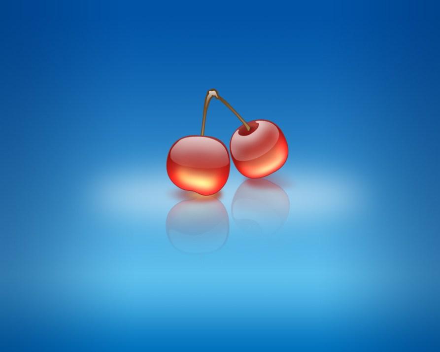Wallpaper-Aqua-Cherries