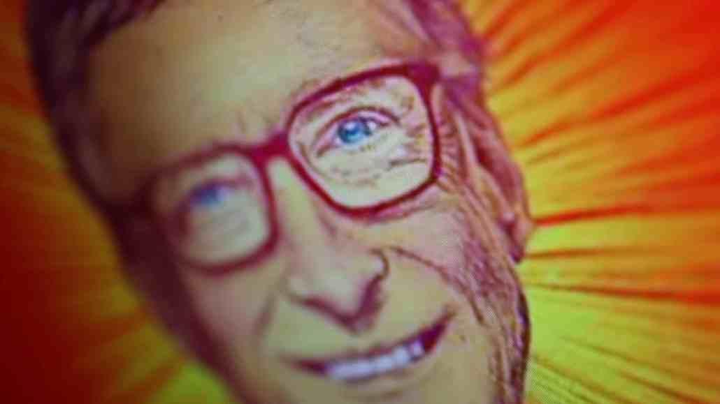 Bill Gates als Hassfigur bei Impfgegnern
