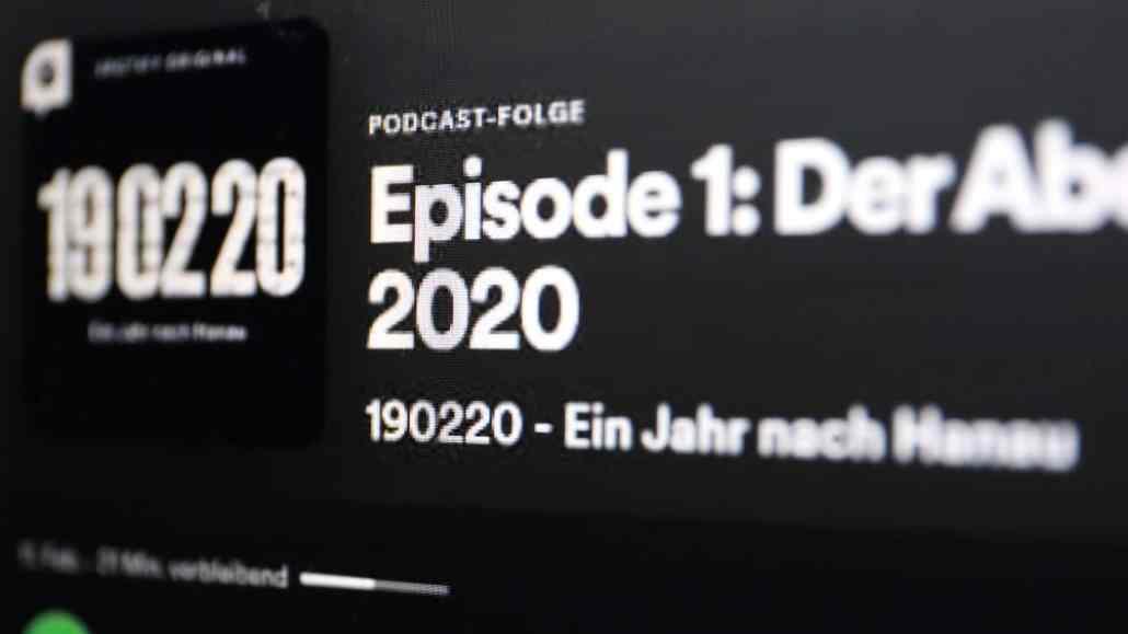 """Podcast """"Ein Jahr danach"""""""