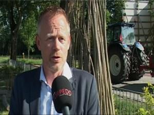 """Wethouder Ruud van Harten (CU-SGP) : """"In vakantietijden gaat er wel eens iets verkeerd."""""""