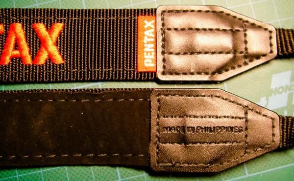 Pentax K-5 Gurt (vorne und hinten)