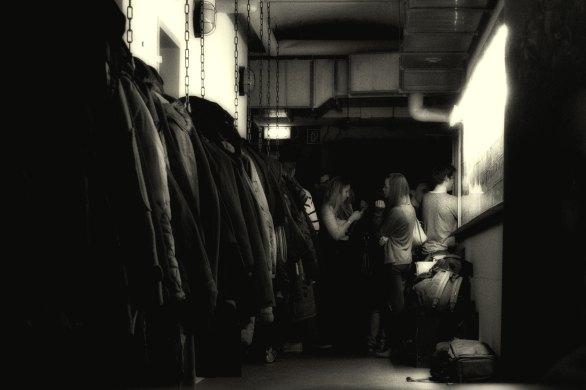 Backstage. Foto: Hufner