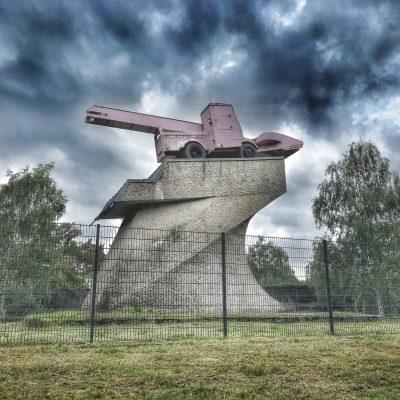 Denkmal. Foto: Hufner