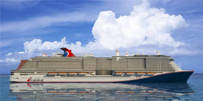 So sieht der Carnival Neubau basierend auf AIDAnova aus / © Carnival Cruise Line