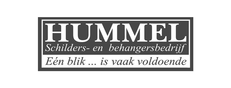 Logo schildersbedrijf hummel