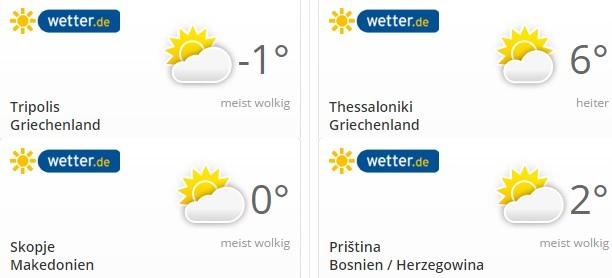 Wetter Februar 2015