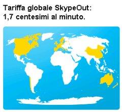 Tariffe SkypeOut