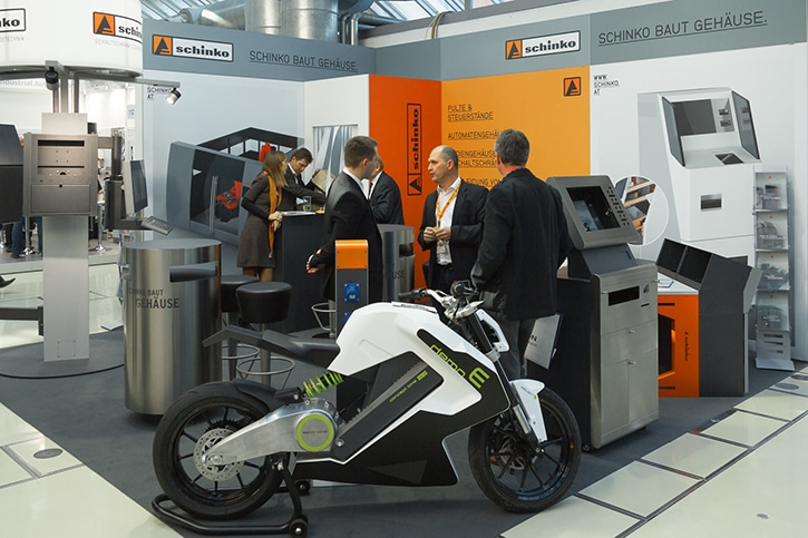 Smart Automation Austria 2015 - Schinko Messestand auf der Smart Automation Austria 2015.