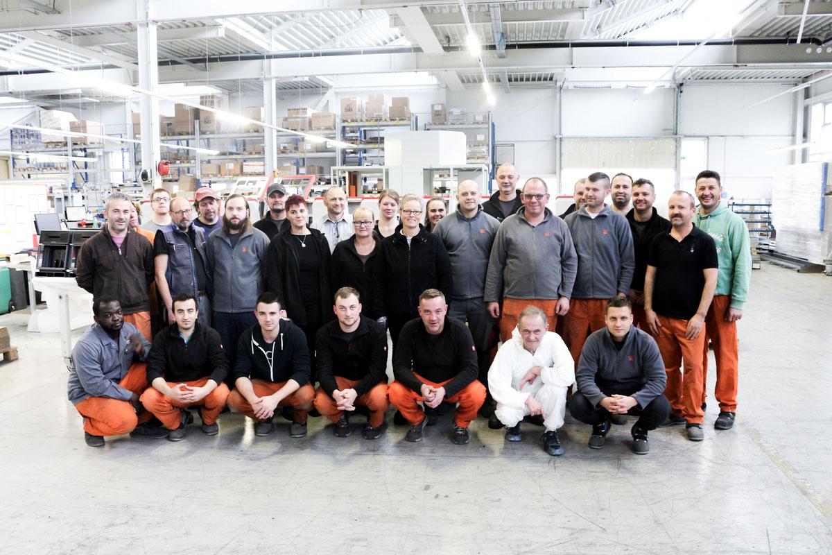 Schinko Team Endfertigung - Leitung Markus Satzinger