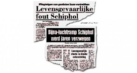 Telegraaf bijna-rampenkoppen