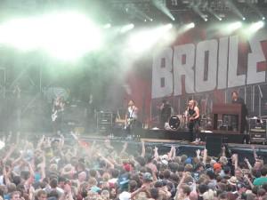 Broilers, Taubertal Festival 2012